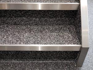 Steinteppich Treppen